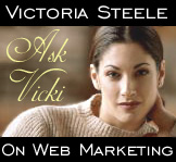 Ask Vicki on Web Marketing